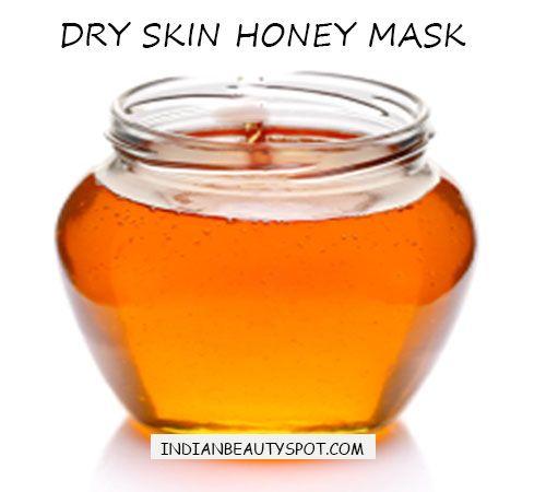 dry skin remedy honey
