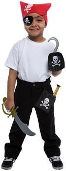 PartyBell.com - Pirate Dress Up Accessory Kit