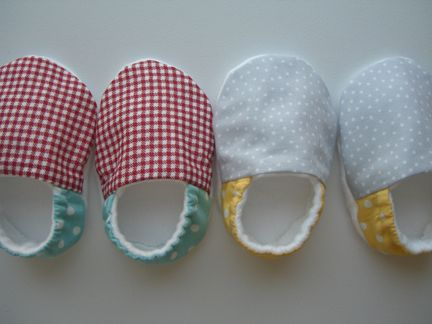 Fleece Baby Booties Free Sewing Pattern Migrant Resource Network