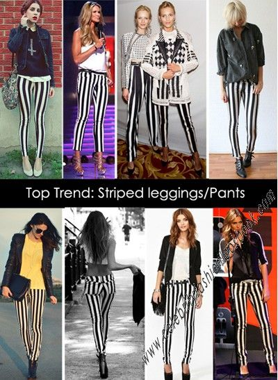 For longer, more statuesque figure - Vertical Striped Skinnies http://celebrityfashionlookbook.com/jn27-vertical-striped-skinnies.html #fashion #fashionista #teens #trendy
