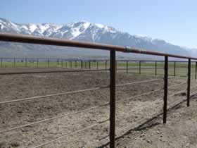 Used Drill Pipe Fence Materials From 1 Time Fence Supply