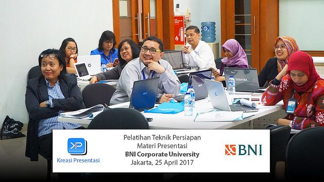 Workshop Slide Presentasi BNI, 25 April 2017