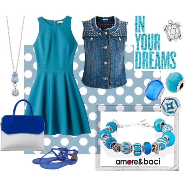 Amore & Baci turquoise dream by amoreebaciworld on Polyvore