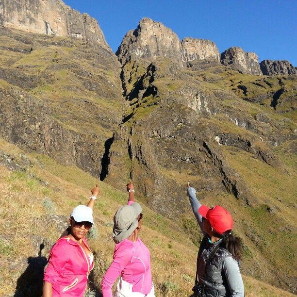 We climbing up to that peak