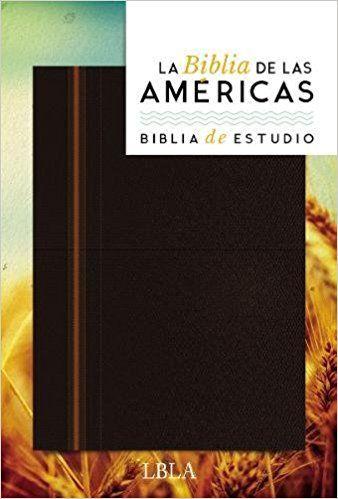 La Biblia de Las Americas - Biblia de Estudio: Amazon.es: La Biblia de Las Americas Lbla: Libros