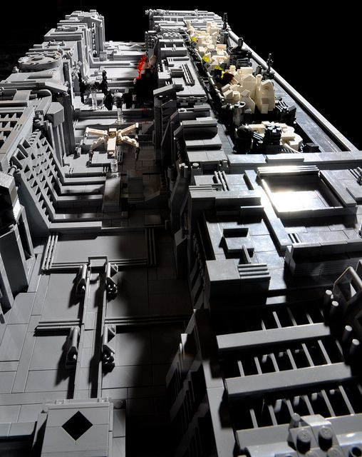 Death Star Trench by Si-MOCs, via FlickrFlickr, Long Death, Micro Death, Death Stars, Lego Death, Stars Trench, Stars Wars, Photos Shared, De Photos