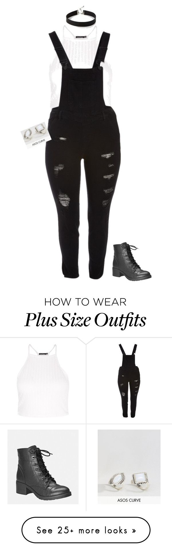 """""""Plus Size"""" by italian-girl87 on Polyvore featuring Boohoo, Dollhouse, Express, ASOS Curve and Avenue"""