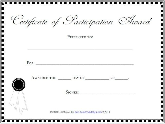 The 25+ best Certificate of participation template ideas on - prize voucher template