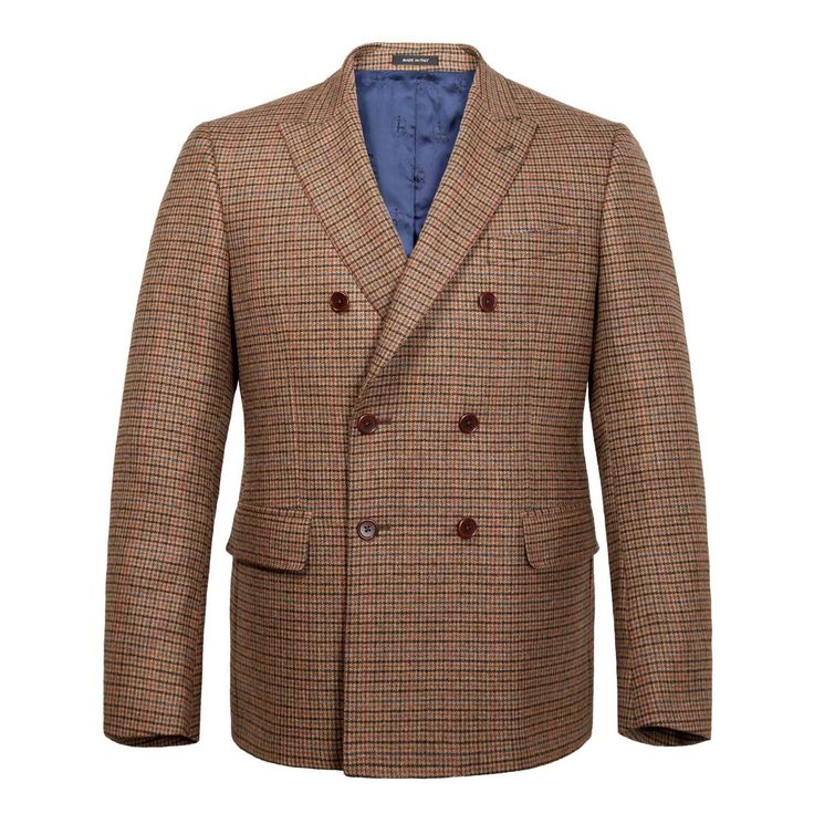 Mr Porter x Noah NYC Double Breasted Houndstooth Jacket