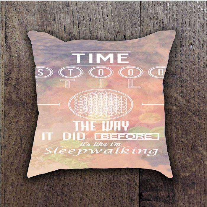 SLEEP WALKING LYRICS BMTH SEMPITERNAL ALBUM BATHROOM PILLOWS