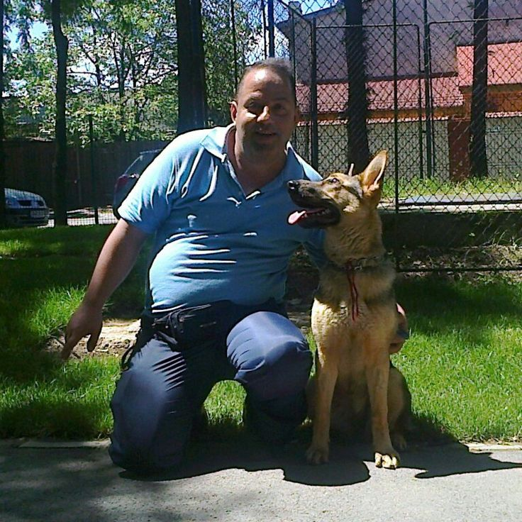 Linda și dogtrainer