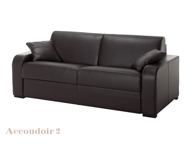 25 best ideas about canap cuir convertible on pinterest canap cuir 2 pla - Housse de canape chesterfield ...
