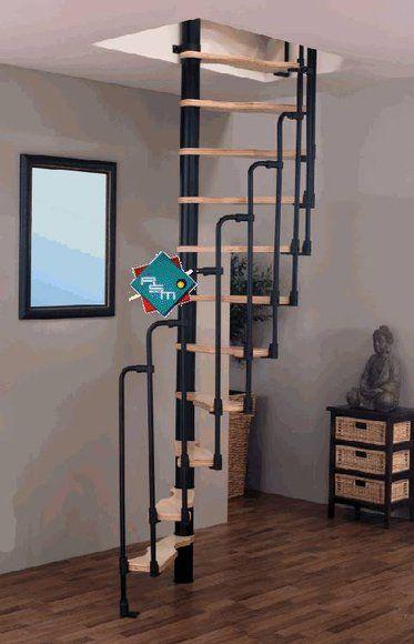 die besten 25 raumspartreppen ideen nur auf pinterest treppe dachboden wendeltreppe und stiegen. Black Bedroom Furniture Sets. Home Design Ideas