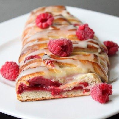 Raspberry Pastry Bread