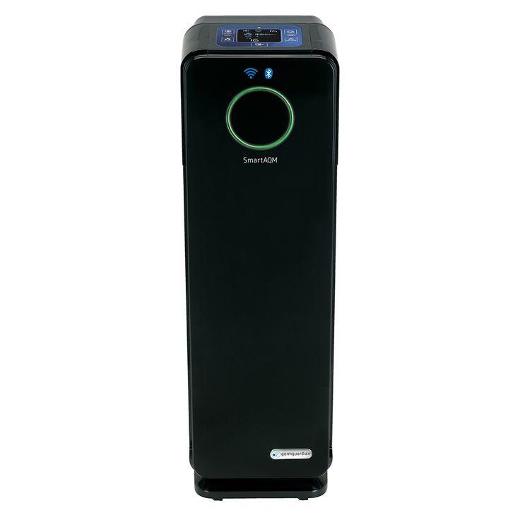 germ guardian smart elite 4in1 odor reduction and uv sanitation true hepa air purifier cdap4500bca smart air purifier