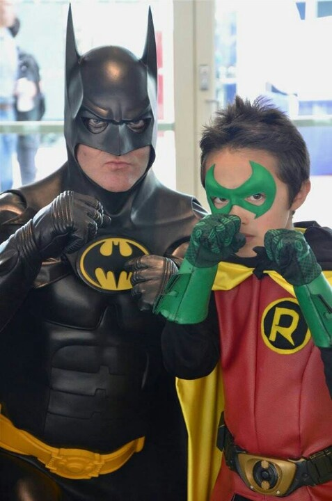 Batman & Robin. View more EPIC cosplay at http://pinterest ...