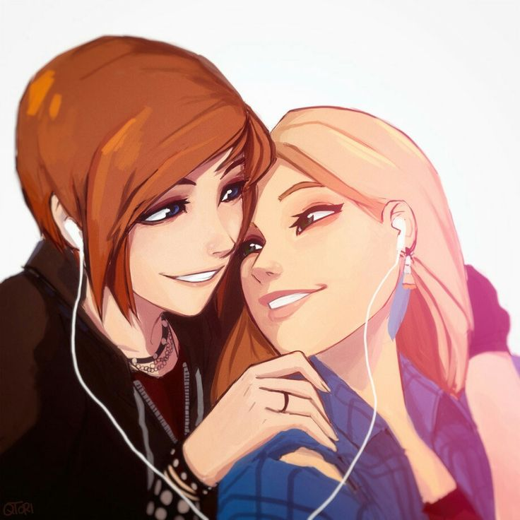 Chloe and Rachel