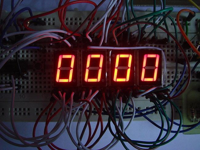 17 best images about electronic computers arduino making diy stopwatch using digital ic chips 4026 and 4017 schematic circuit diagram of digital