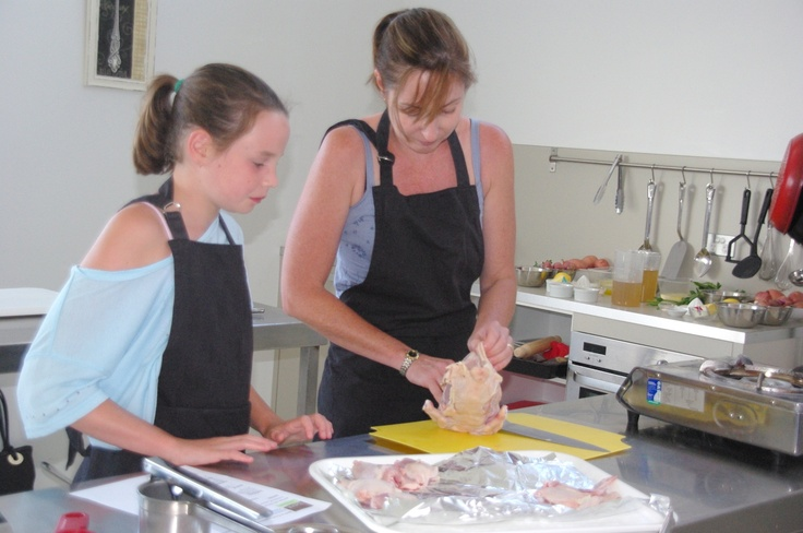 Mothers Day Hen and Chicken cooking class