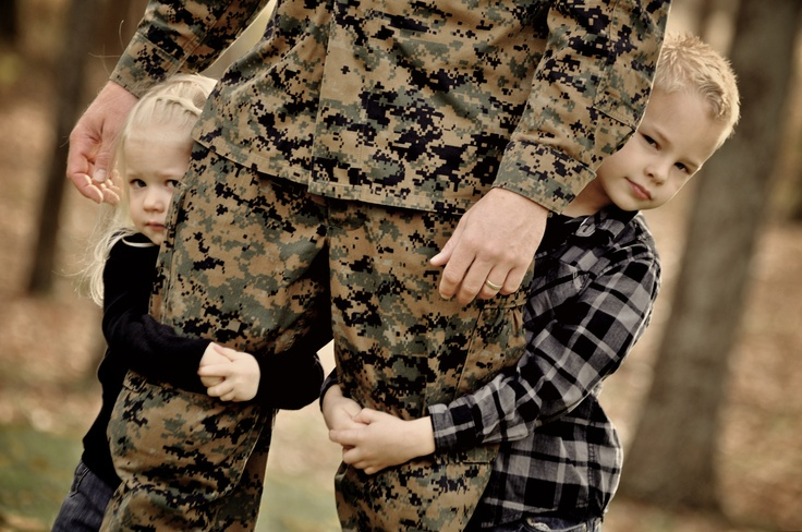 Military Family...Marine Dad