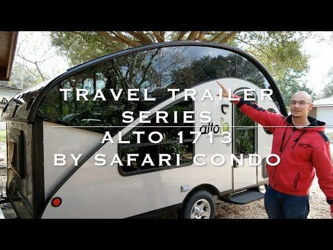 A Retired Woman Living in a Teardrop Trailer Made by T@B & Towing it with a Jeep - YouTube