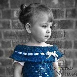 This pattern is written so that you work to fit a certain set of measurements. It is made to fit the person who intends to wear the item. It is very versatile in the type and weight of yarn you can use. There are so many different ways to crochet this top, and just by changing the yarn, you can change the whole look of the item!