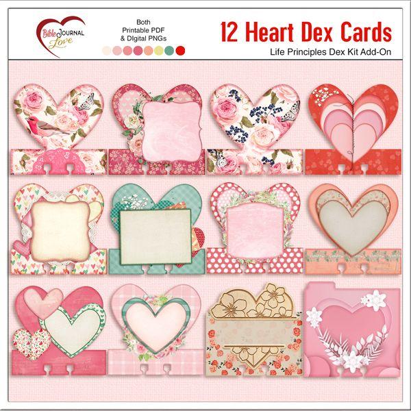 Pin On Faith Dex Cards