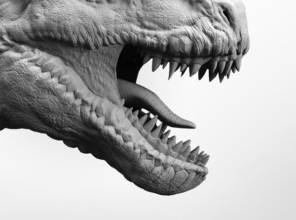 Cossette - Dinosaurs by Radoxist Studio, via Behance