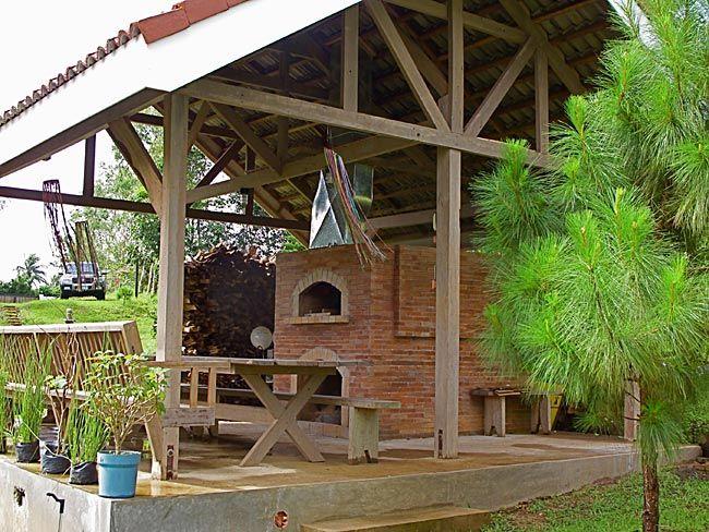 Pizza oven hut in Philippines