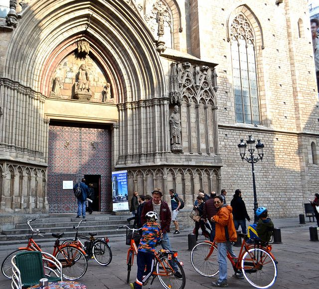 Why taking a Barcelona City Tour on a bike is such a great way to get oriented with the city and more.