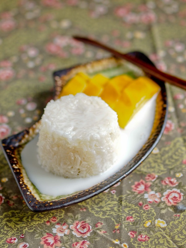 Mango with Sticky Rice: LOVE it!!!  Had this for my birthday instead of cake this year!