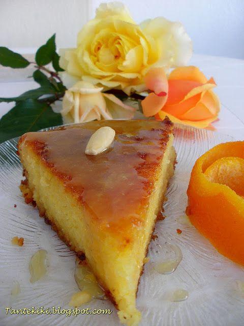 Tante+Kiki:+Πορτοκαλόπιτα+με+σιμιγδάλι+σε+δύο+εκδοχές...
