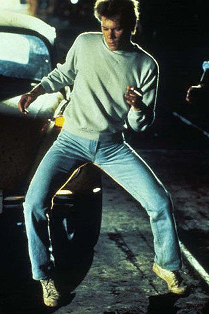 """Kevin Bacon en""""Footloose"""", 1984"""
