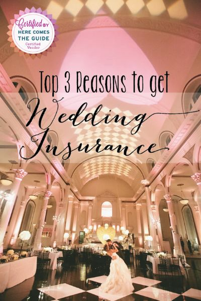 The #1 thing you should invest in for your wedding — WedSafe Wedding Insurance