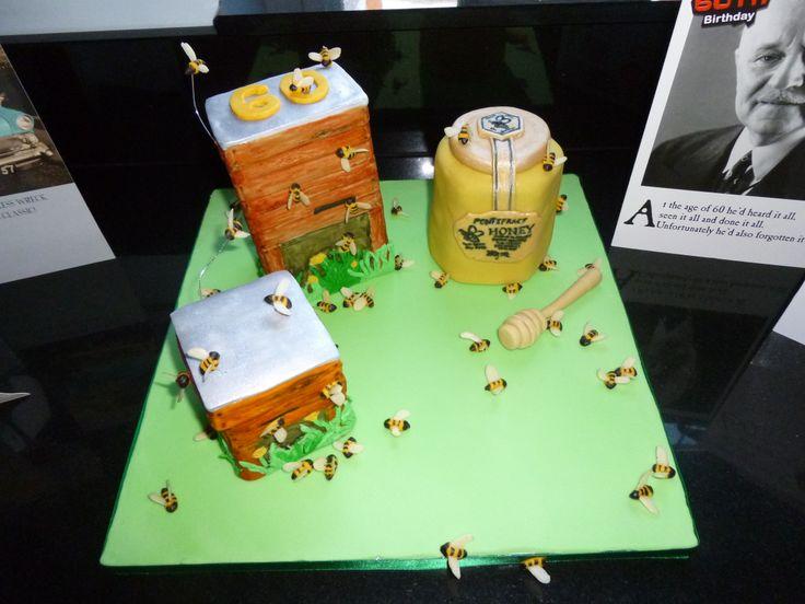 Richard's 60th birthday cake
