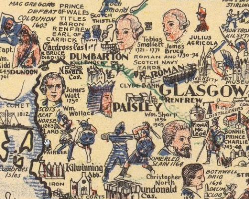 hand drawn maps of scotland - Google Search