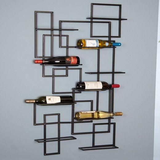 Προτάσεις Για Την Αποθήκευση Μπουκαλιών Κρασιού / Alternative Ideas To Store Wine Bottles