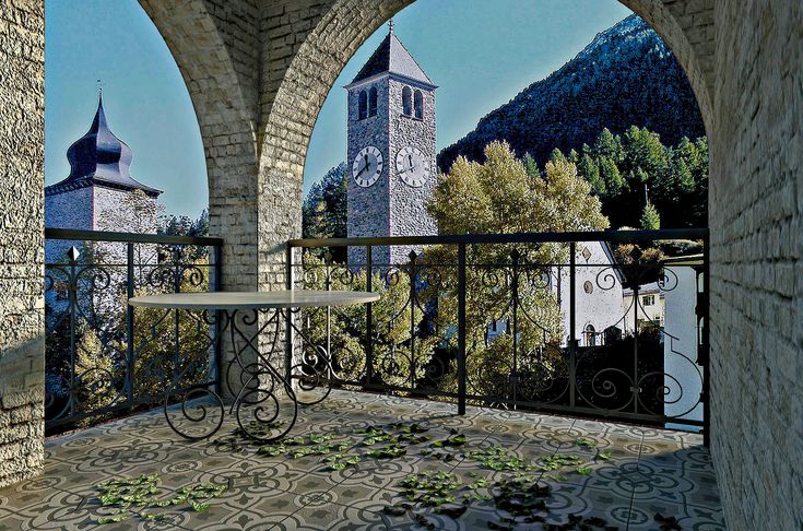 "Kerama Marazzi ""LOREDAN"" outside: render V-Ray in DomuS3D"