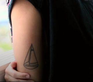 Sailing tattoo
