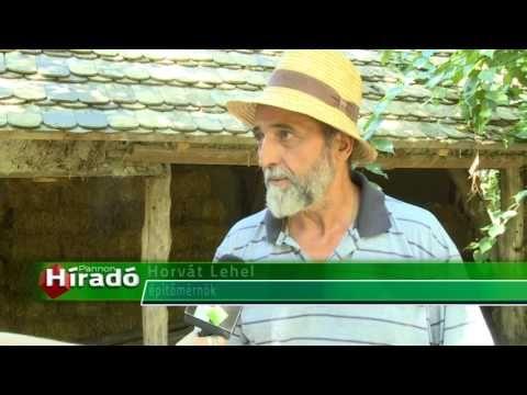 VIDEO - KATT - 13 szalmaház épül az első szerbiai ökofaluban   Sokszínű vidék