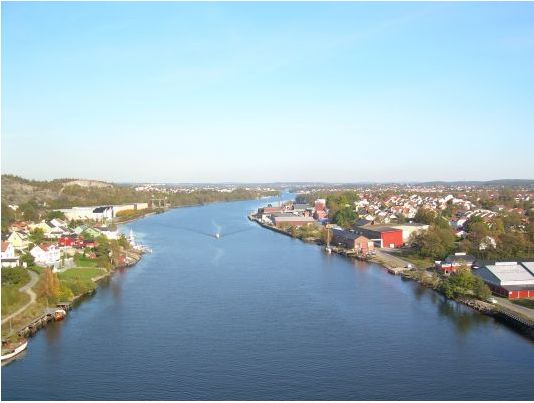 Gamlebyen - river on the outskirts of Fredrikstad, Norway. More photos: Fredrikstad pl