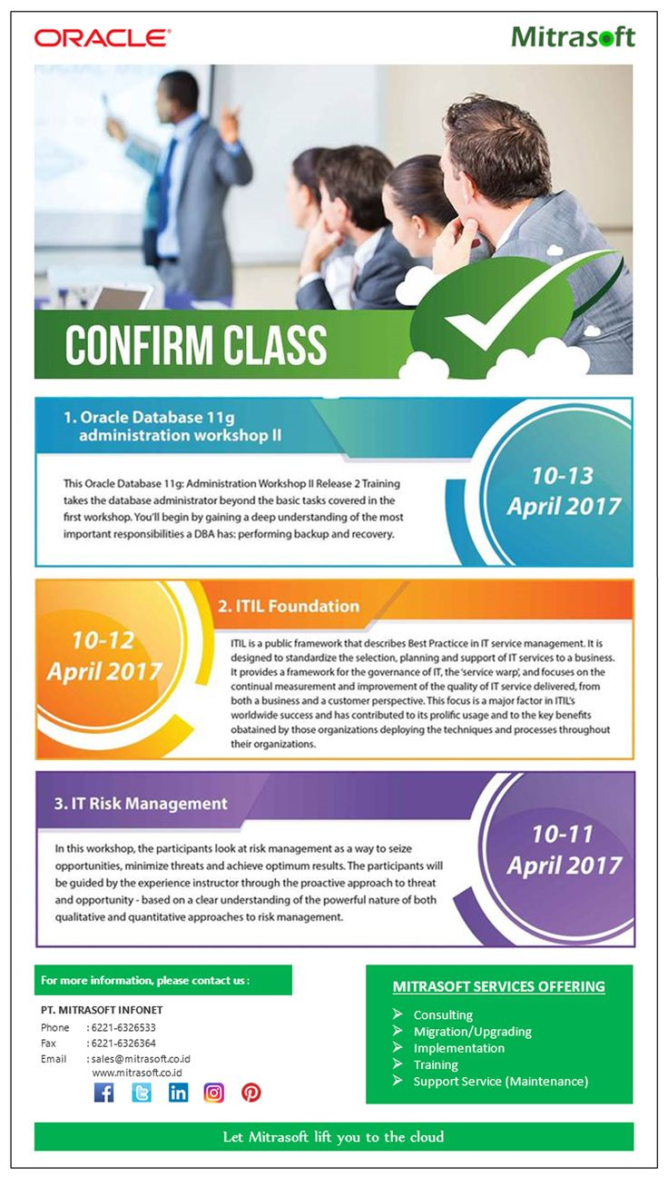 #MitrasoftSolution #Oracle Training Classes (10-13 April 2017) Like us: https://www.facebook.com/pt.mitrasoft.infonet Follow us: https://twitter.com/Mitrasoft_PT https://www.linkedin.com/company/mitrasoft-infonet