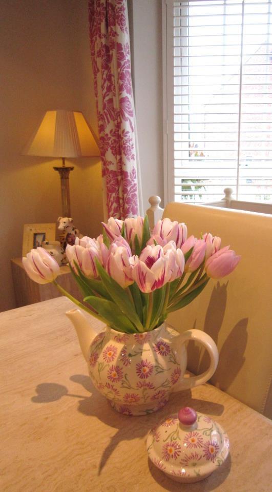 Emma Bridgewater Daisy Four Cup Teapot