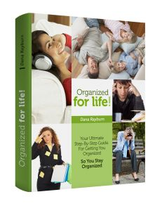 Organized for Life by Dana Rayburn Book plus system for $25