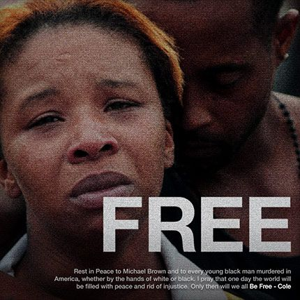 """Music is a big platform that is utilized to honor deceased loved ones. Rapper J. Cole took it upon himself to create a song dedicated to Mike Brown titled """"Be Free"""". The single cover for the song displays an emotional photo of Mike Brown's mother, which can be heard in the song as J. Cole pours his heart out on the song."""