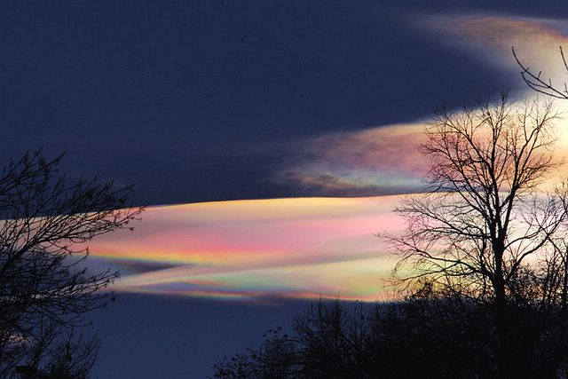 beautiful nature, Iridescent Cloud #photography #nature   \ by truan, via Flickr