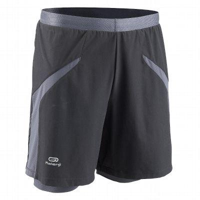 RUNNING_trail Running, Atletismo - Malla + pantalón corto Running  KALENJI - Ropa de Running