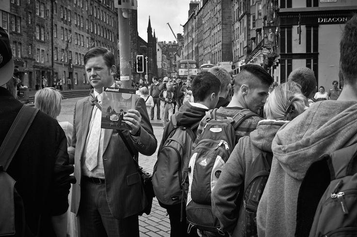 Street photography Royal Mile Edinburgh