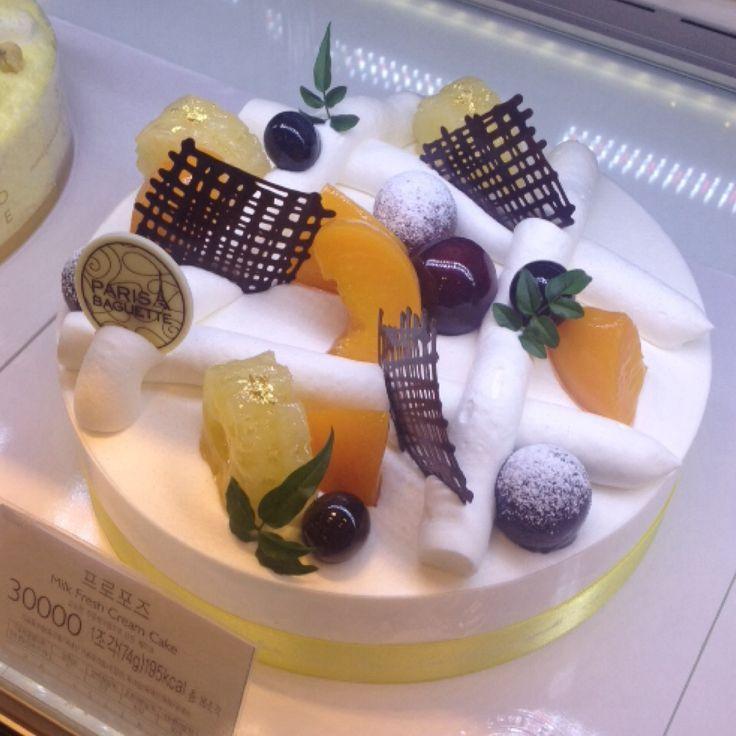 Cake in korea3 crparis baguette korean cakes