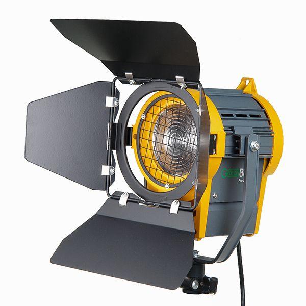 Купить Галогенный осветитель GreenBean Fresnel 650 за 12742руб. с доставкой по всей России в интернет магазине Фото Про Центр. Артикул: Fresnel 650